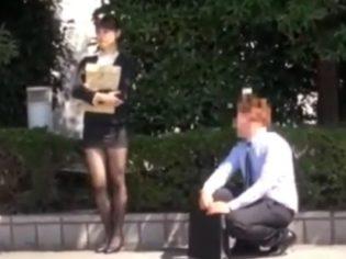 Asiática guarra se folla a compañero de clase