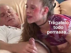 Abuelo y nieta traspasando las barreras del incesto
