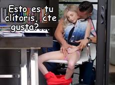 Pornpros: masturbando a la becaria Piper Perri