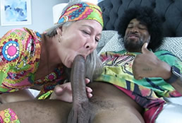 Leilani Lei, la vieja zorra que folla con negros
