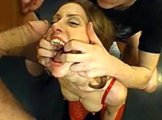 Los bukkakes porno más salvajes