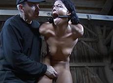 Strappado porno: disfrutando con la tortura sexual