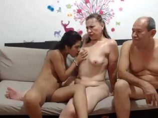 Incesto amateur transmitido por una webcam ¡pocas veces visto!