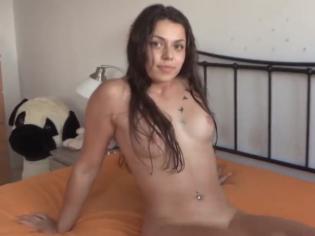 Jovencita graba porno porque quiere ser Influencer (español)