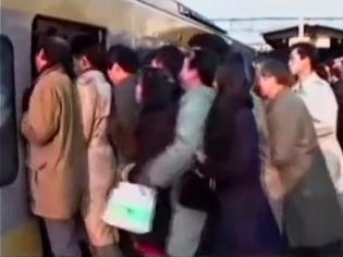 Colegiala violada en el metro de Japon