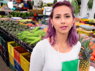 Jovencita colombiana deja el mercado para ir a un falso casting