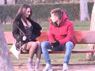 ¿Quieres que te chupe la verga en la calle? (español)