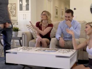 Reunión familiar se convierte en una bacanal de sexo